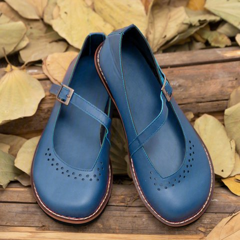 Retro Flat Comfortable Women's Shoes
