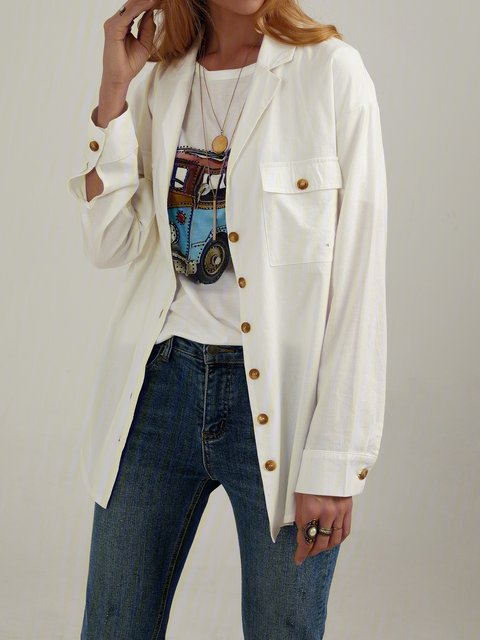 Casual Long Sleeve Button Down Shirts