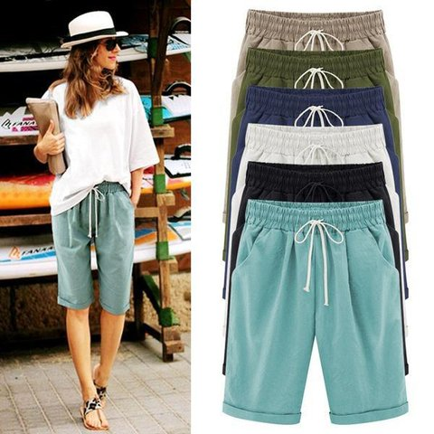 Casual Cotton Spring Pants