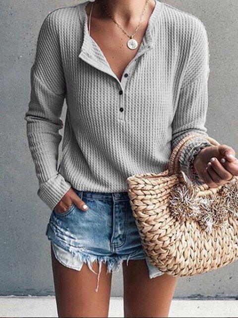 Patchwork Cotton Round Neck T-Shirt