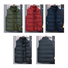 SIGNFAITH Winter Down Cotton Men's Warm Vest