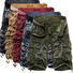 2018 New Men's Camouflage Cotton Shorts