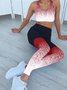 Tie-Dyed Yoga Women Sports Stretchy Pants