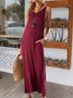 Wine Red Spaghetti-Strap Holiday Dresses