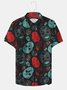 Men Skull Printed Casual Shirts