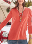 Casual Plus Size Tops Tunic Pullover Sweater