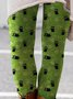 Holiday Animal Cotton-Blend Pants