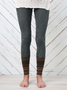 Plus size Casual Legging Pants