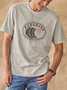 Printed Vintage Men's Fashion Print Tee