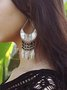 Vintage Bohemian Geometry Long Earrings