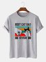 Vintage Printed Men's Fashion Print Tee