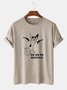 Animal Vintage Cotton-Blend Tee Shirts & Tops