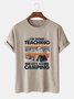 Cotton-Blend Vintage Tee Shirts & Tops