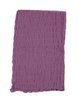 Purple Solid Simple Cotton Scarf