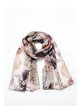 Multicolor Animal Print Polyester Casual Scarf