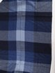 Navy Blue Casual Acrylic Checkered/Plaid Scarf