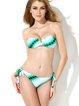 Green Bandage Bandeau Bikini