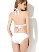 White Halter Solid Grommets One-piece