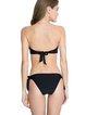 Black Nylon Bandeau Bandage Bikini