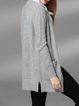 Pockets Solid Simple Long Sleeve Cardigan