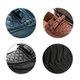 Bowknot Ruffles Genuine Leather Flat Heel Loafers