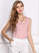 Solid Chiffon Basic Tank Top