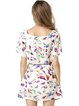 Cute Birds Printed Chiffon H-line Dress