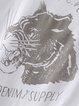 Short Sleeve Basic Animal Print T-Shirt