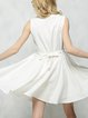 Chaser I Love White Sleeveless Embroidered Dress