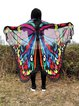 Sun-sational Butterfly Shaped Chiffon Blanket