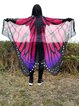 Sun-sational Fuchsia Butterfly Shaped Blanket