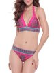 Deep End Fuchsia Wireless Printed Bikini
