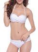Ring Leader White Halter Padded Bikini