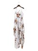 Way It Is White Floral Asymmetrical Dress