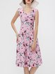 Spring Of Color Pink Swing Sweetheart Dress