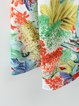 Crazy Forest Multicolor Pockets A-line Skirt