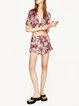 Captivated Multicolor Printed Girly Shorts