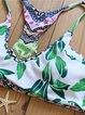 Green Four-way Reversible Padded Racerback Bikini