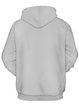 Gray Cute Printed Long Sleeve Hoodie