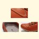 Non Slip Lace-up Split Leather Slip-on Loafers