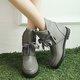 Casual Lace-up Winter PU Platform Boots