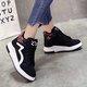 Fur Lined Lace-up Platform Sneaker