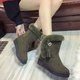 Suede Flurry Tassel Casual Slip On Boots