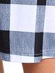 Casual A-line Long Sleeve Crew Neck Mini Dress