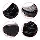 Black Magic Tape Genuine Leather Loafers