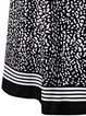 Long Sleeve Elegant A-line Surplice Neck Dress