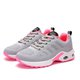 Athletic Flat Heel Fly-Woven Fabric All Season Lace-up Sneakers