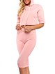 Cotton-blend Casual Two Piece Long Sleeve Hoodie Women's Co-ord