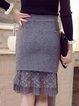 Polyester Flounce Sweet Skirt