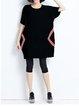 A-line Cotton Elegant Batwing Casual Dresses